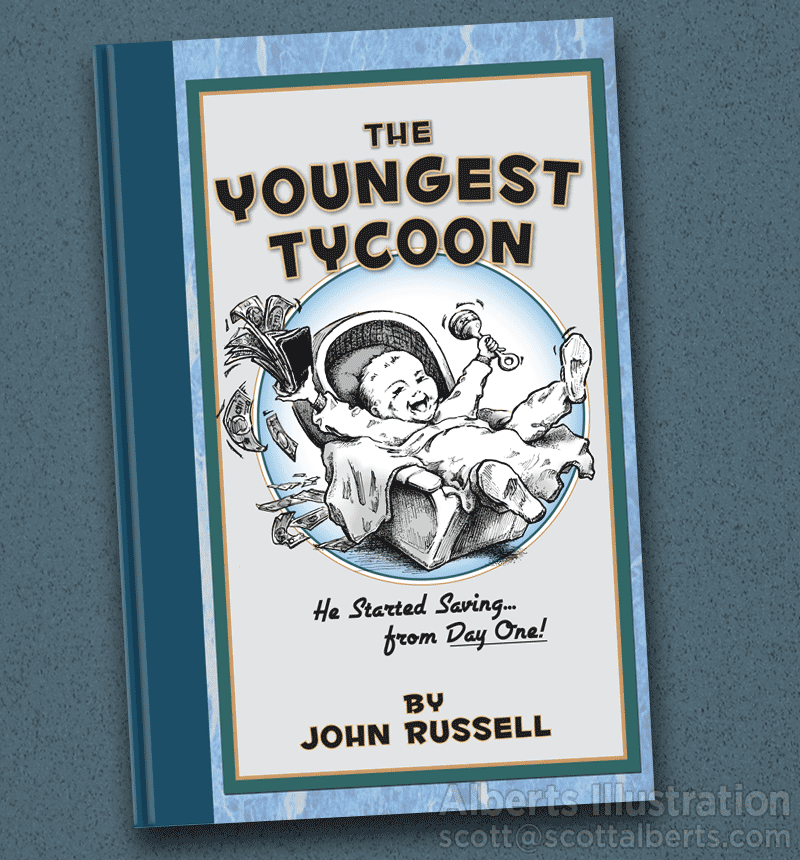 Illustrated Book - 'The Youngest Tycoon'