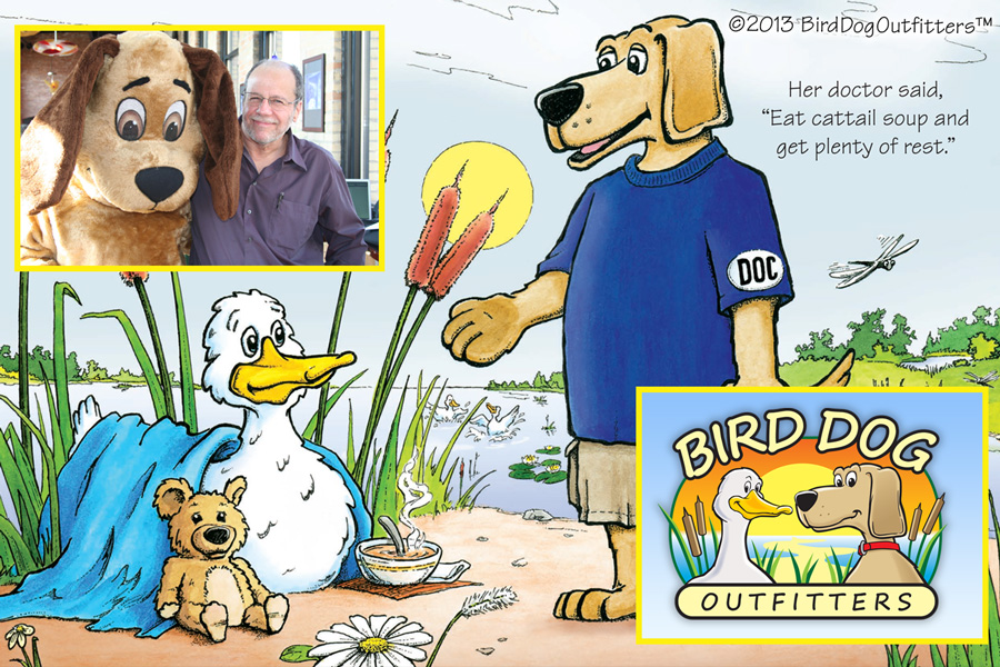 Bird Dog Logo Design, Character Design and Children's Book Graphics