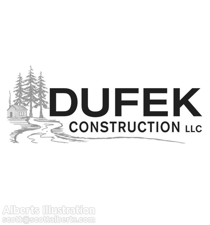 Logo Design for Dufek Construction