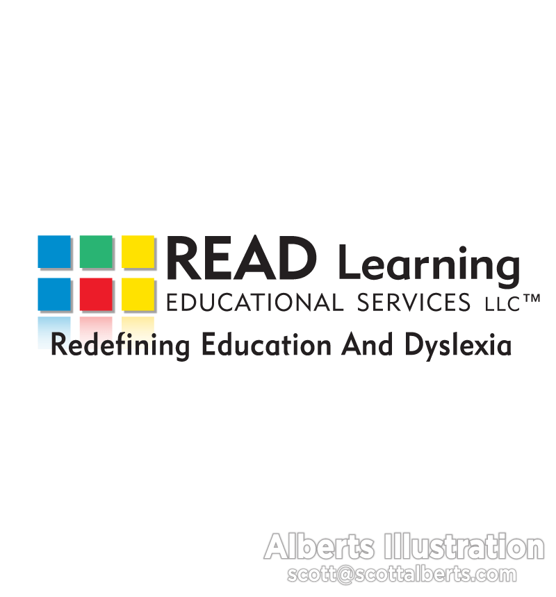 Logo design for READ Learning Educational Services.