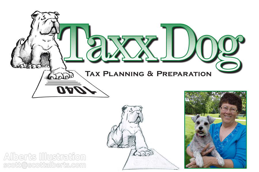 logo-concept_taxx-dog-logo_alberts-illustration